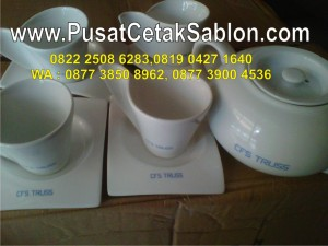 sablon-tea-set-di-buleleng