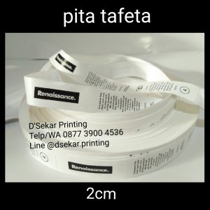 cetak-label-baju-merk-satin-tafeta-woven-damask-dsekar-printing-081904271640-sablon-pita-cetak-label-pakaian-seragam-kaos-kemeja-bandung-bekasi-semarang-makassar